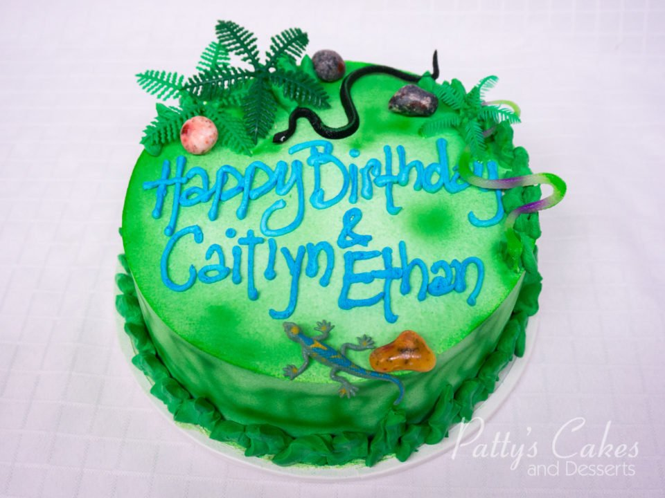 Photo Of A Kids Jungle Birthday Cake Patty S Cakes And Desserts