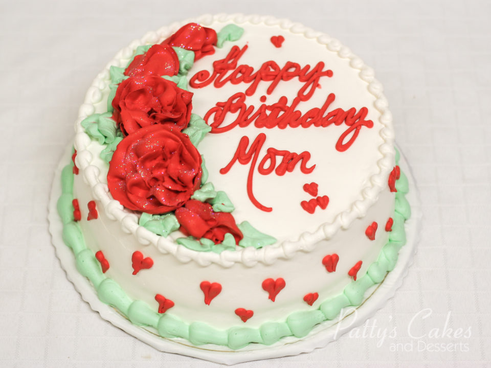 Magnificent Photo Of A Love Birthday Cake Mom Pattys Cakes And Desserts Personalised Birthday Cards Arneslily Jamesorg