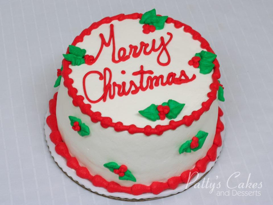 Christmas Cake No Icing