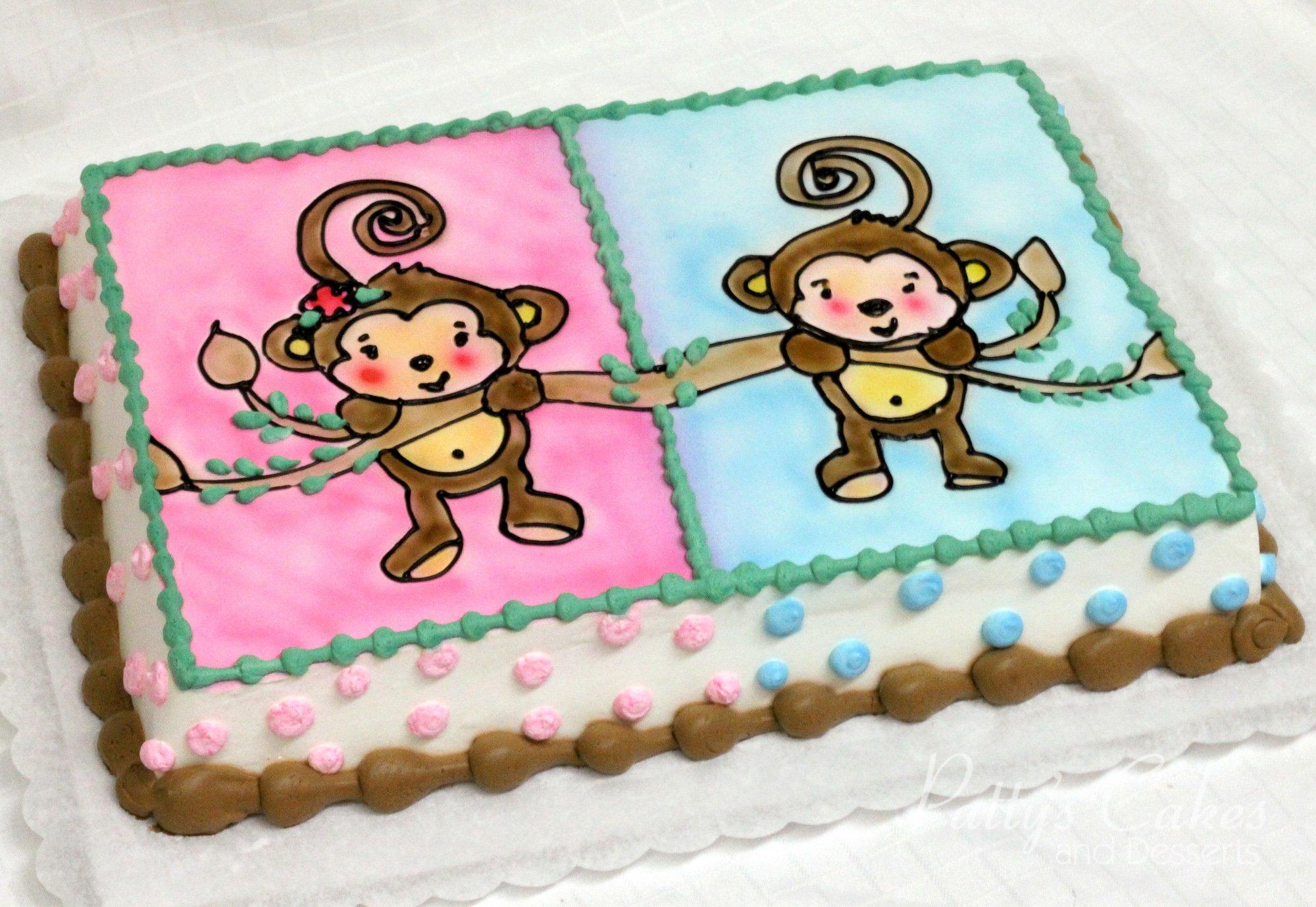 monkey-baby-shower-cake