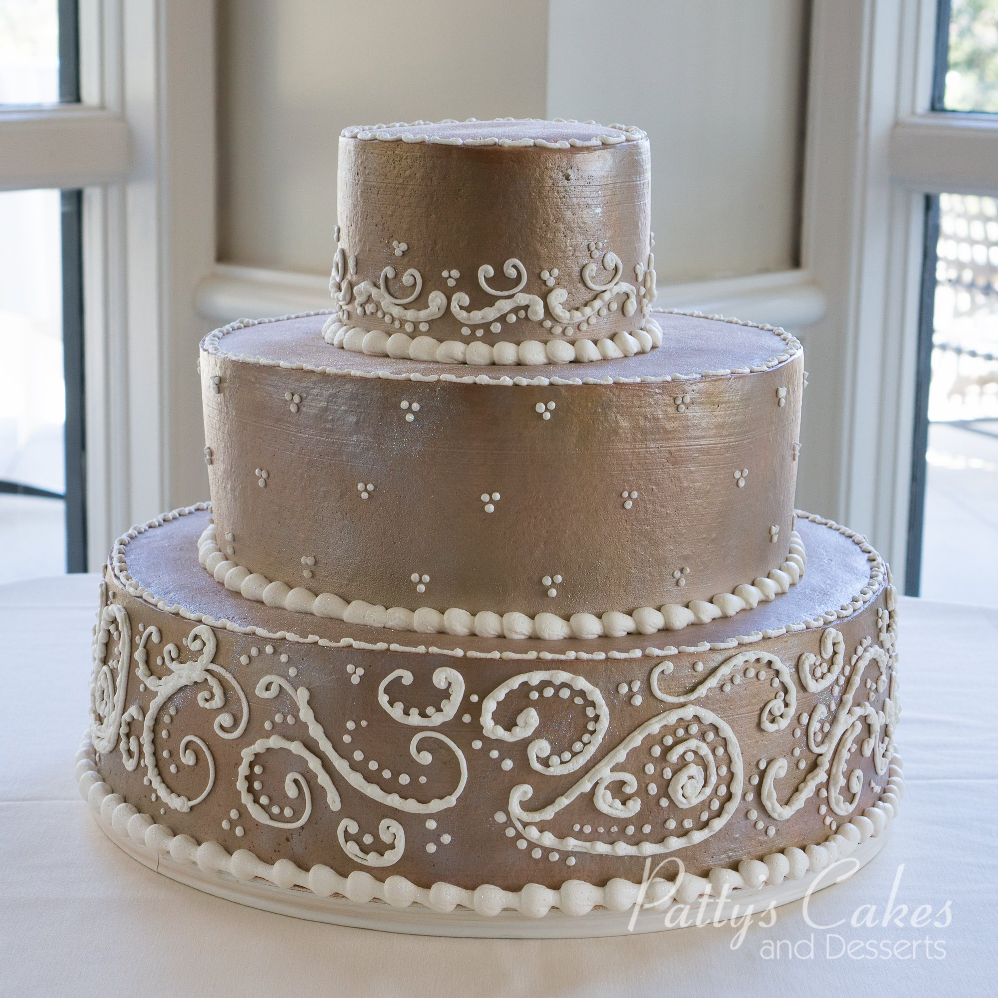 paisley wedding cake photo of a paisley wedding cake patty s cakes and desserts 18107