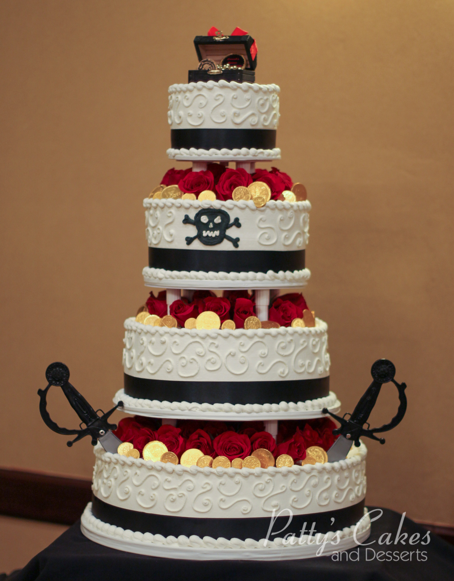 pirate themed wedding cakes photo of a pirate theme tiered birthday cake patty s 18618
