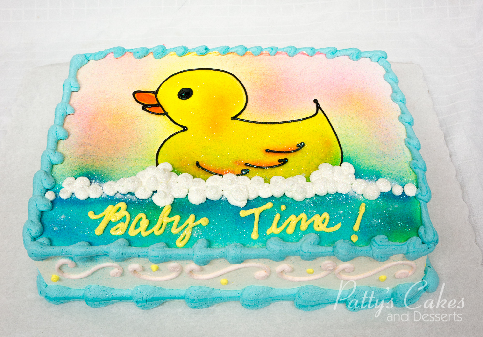 of a rubber duck baby shower cake Patty s Cakes and Desserts