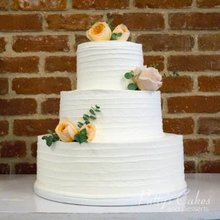 Simple wedding cake archives pattys cakes and desserts if you are wondering who to hire as your wedding cake bakery definitely go with pattys cakes besides isnt the name just so cute junglespirit Choice Image