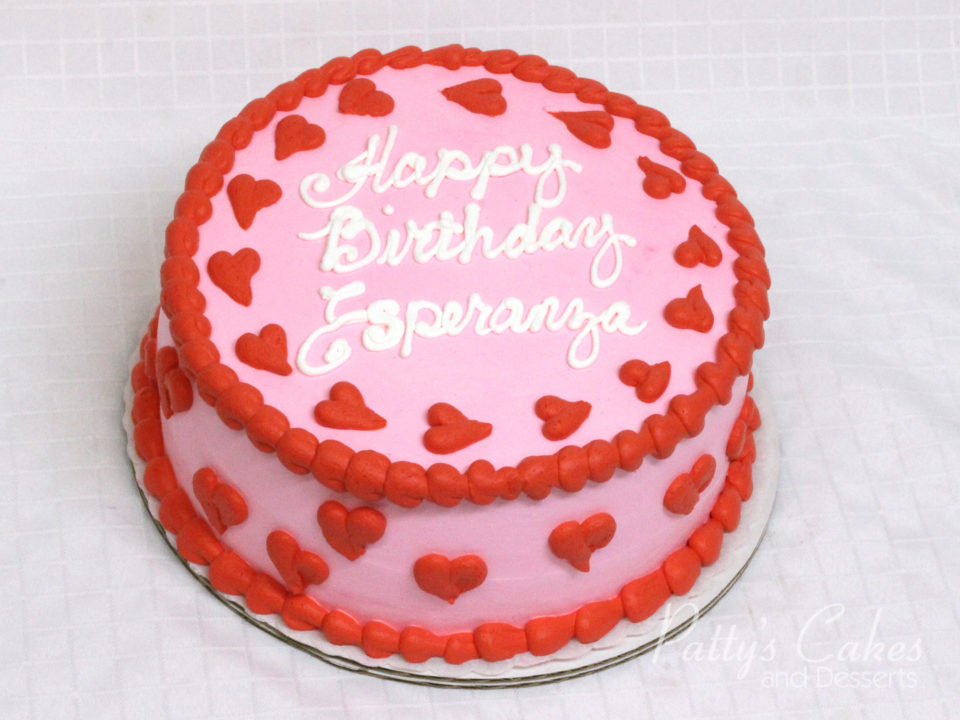 Enjoyable Photo Of A Valentines Birthday Cake Pattys Cakes And Desserts Funny Birthday Cards Online Elaedamsfinfo