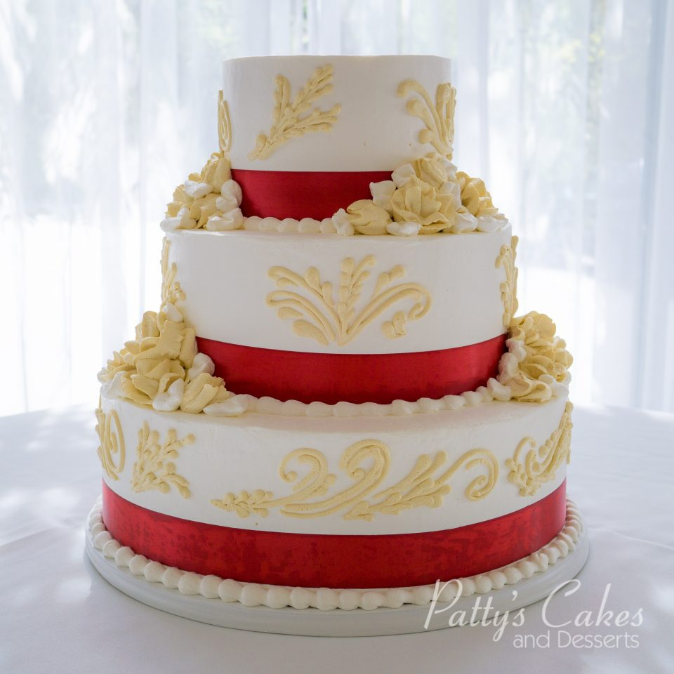 Photo of a art deco wedding cake - Patty\'s Cakes and Desserts