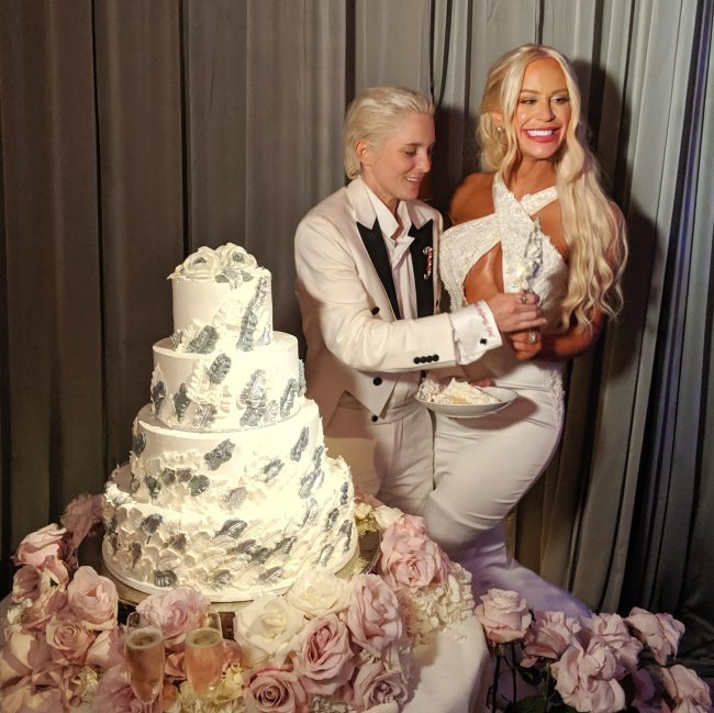 Celebrity Wedding July 2019: Gigi Gorgeous And Nats Getty Wedding Cake